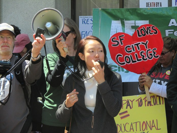 Sup. Jane Kim succeeded in winning free City College -- and now it's time to enroll!