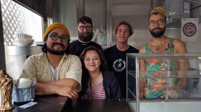 The Noman crew is ready to perk you. Photo courtesy Noman Coffee