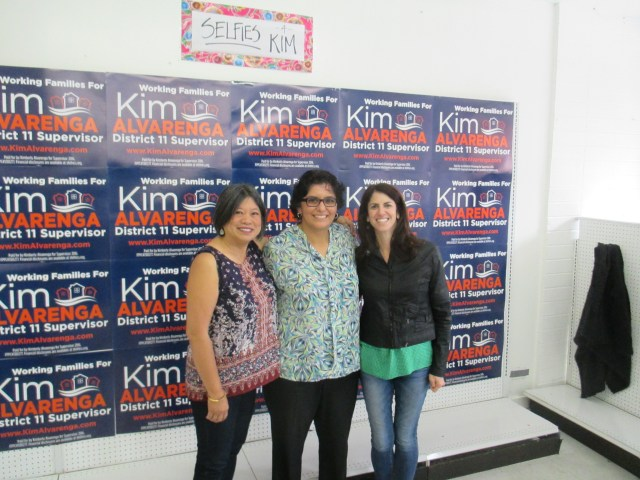 Sandy Fewer, Kim Alvarenga, and Hillary Ronen ran community-based campaigns. Two of them won.