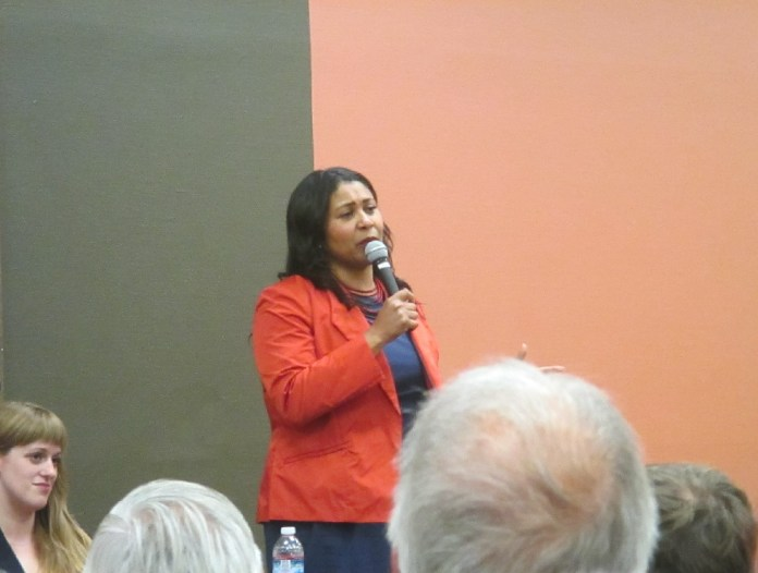 """London Breed said """"it doesn't matter who the mayor is"""" when it comes to her positions"""