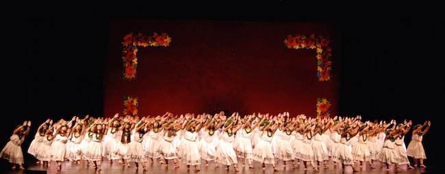 Along with stunning stage pictures, the troupe shows remarkable discipline and craft.