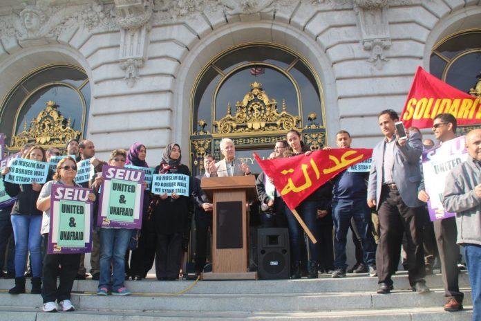 DA George Gascon sad his office has zero tolerance for hate crimes. Photo by Sana Saleem.