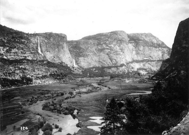This is the majestic valley the city flooded for water and power (Isiah West Taber, Sierra Club Bulletin, 1908)