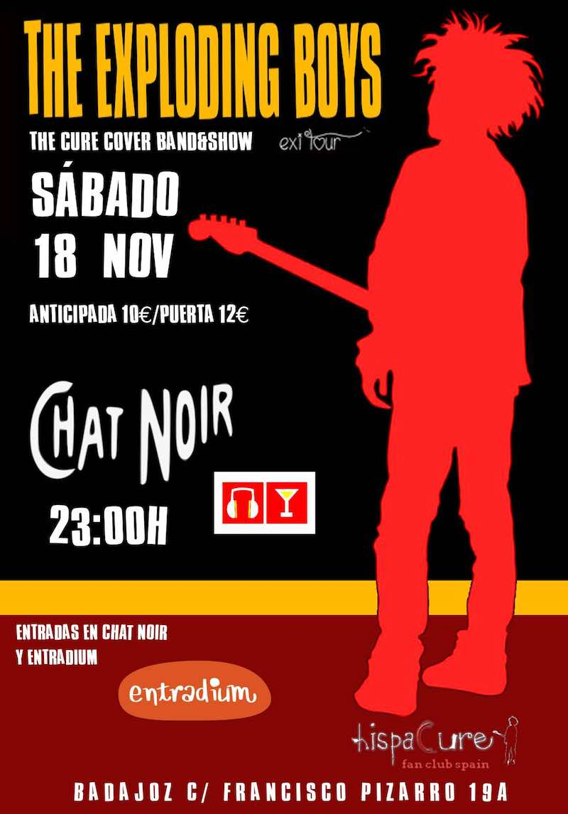 The Exploding Boys tributo a The Cure