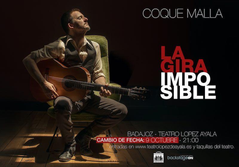 ¡Nueva fecha! Concierto de Coque Malla - 'Gira Imposible'