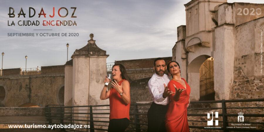 Badajoz, La Ciudad Encendida 2020 - Emilio El Mago y Pepe Burgos