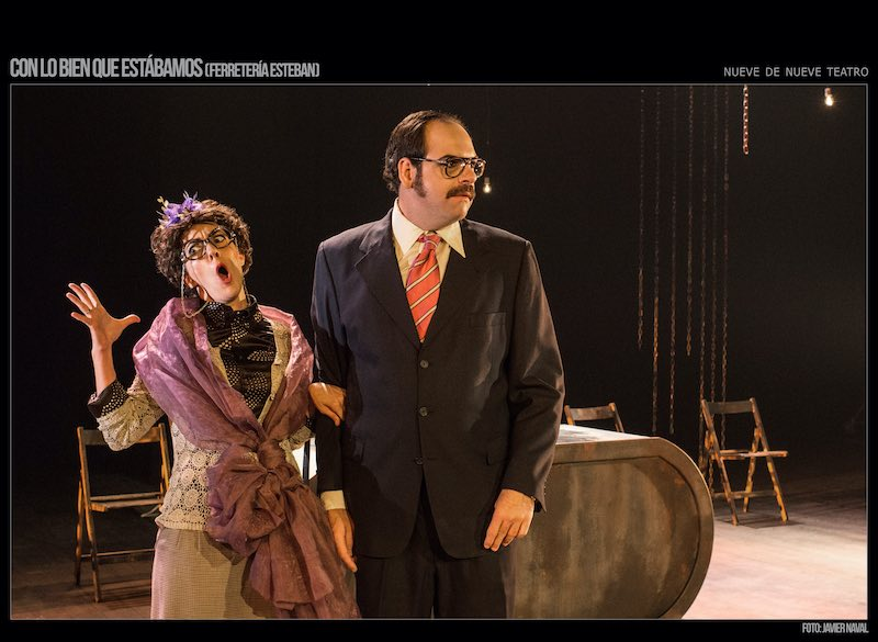 43 Festival Internacional de Teatro de Badajoz - 'Con lo bien que estábamos'