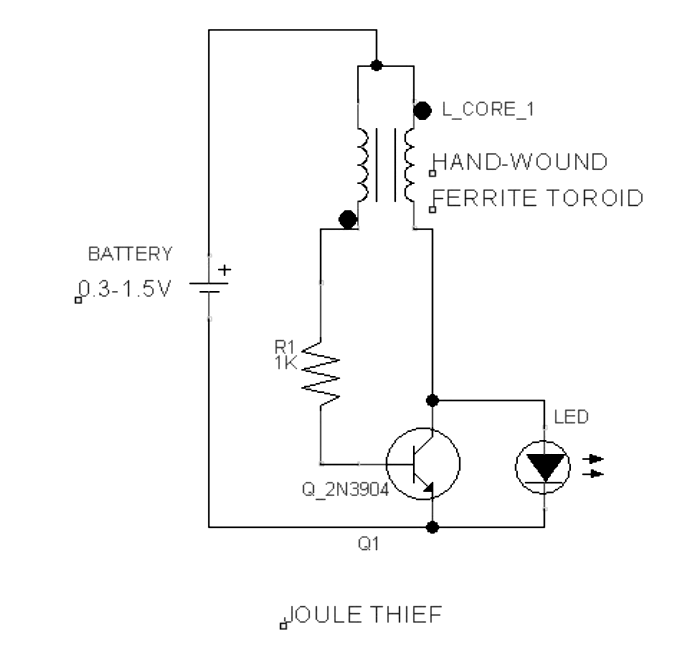 jewel thief circuit diagram