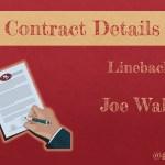Details zum Vertrag von Joe Walker