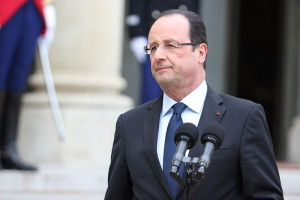 "In the aftermath of the deadly Paris attacks, French President Francois Hollande said ""we are going to lead a war which is pitiless."" Photo: Wikipedia."