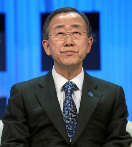 "United Nations Secretary-General Ban Ki-moon, pictured, this week addressed the Security Council ""on the situation in the Middle East."" Photo: World Economic Forum."