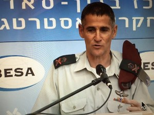 IDF Deputy Chief of Staff Maj. Gen. Yair Golan said he believes Israel should try to alleviate tensions with Turkey. Photo: Twitter.