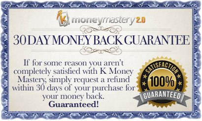 KMM 30Day Guarantee 01 - Kindle Money Mastery