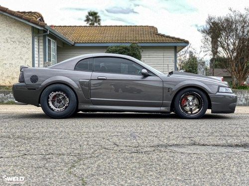 small resolution of matte black ford mustang 2003 cobra terminator weld s71 wheels