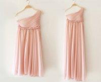 3 Colors Greek Goddess Elegant Dress Nude Pink Gown ...