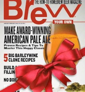 Gift Print Magazine Subscription Brew Your Own