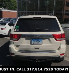pre owned 2012 jeep grand cherokee overland [ 1024 x 1024 Pixel ]