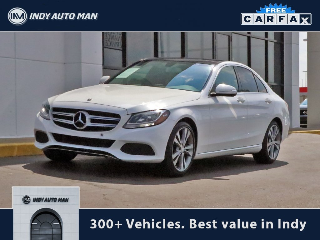 hight resolution of pre owned 2015 mercedes benz c class c 300