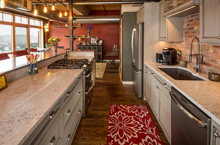 Warehouse Loft Gets a Customized Makeover Stays Urban  Silent Rivers DesignBuild