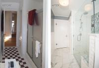The Big Reveal: Final Photos of Bathrooms in a 1920 ...