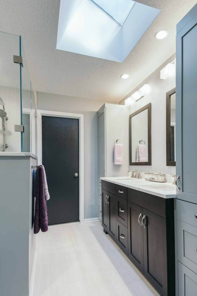 materials to modernize 1980s bathroom remodel by silent bathroom