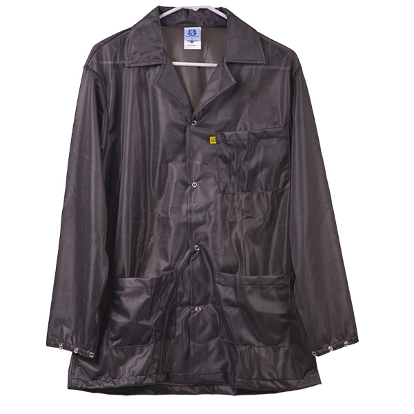 Black Lightweight Plus ESD Smock 8900 Series