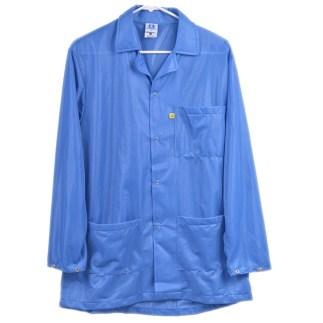 Blue Lightweight Plus ESD Smock