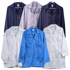Premium Cotton Polyester ESD Smocks