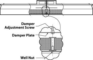 Damper Assembly Adjustment