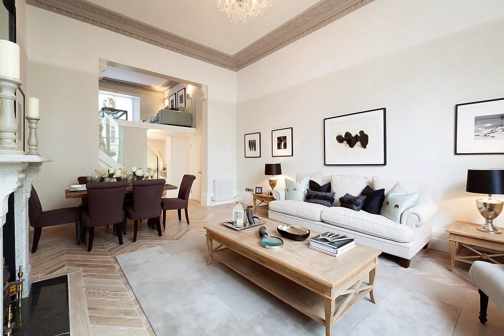 Open Plan Apartment in London UK