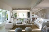 Classic Style Interior Design in White and Beige | 4BetterHome