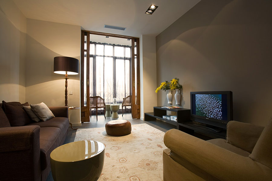 Modern Classic Style Interior Design In Old Part Of