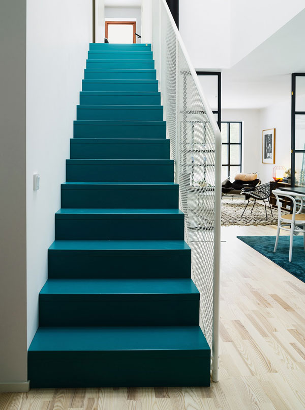 Scandinavian Style Interior with Turquoise Blue Accents  4BetterHome