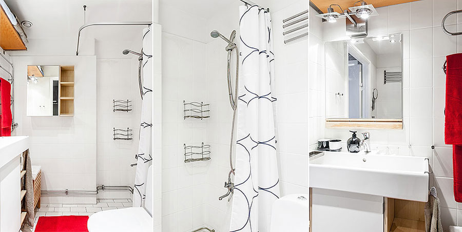 Swedish Style Interior Decorated With IKEA Furniture And