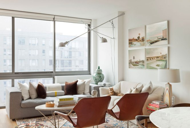 Small Eclectic Style Apartment Design In New York