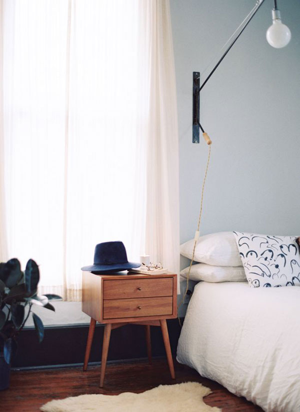 45 Brilliant Bedside Table Ideas in Different Styles and