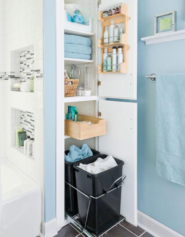 38 Functional Small Bathroom Storage Ideas