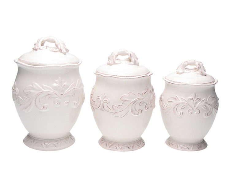 country kitchen canister sets ceramic paints decorative canisters and jars