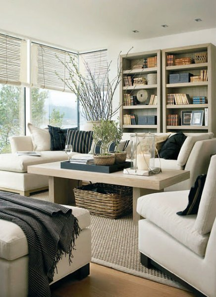 beige living room ideas 36 Light Cream and Beige Living Room Design Ideas