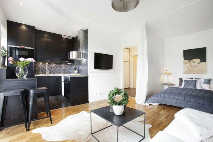 Small Studio Apartment  Joy Studio Design Gallery  Best