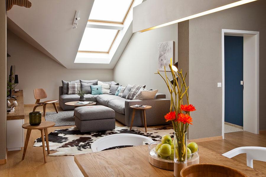 Loft Interior Design with Ethnic Style Elements