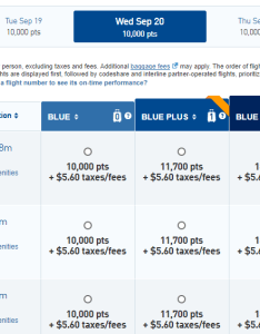 Jetblue jfk lax points results also airlines trueblue frequent flyer program full review rh upgradedpoints