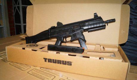 Novas armas irão reforçar equipamento da Polícia Civil. (Foto: Larissa Wilson)