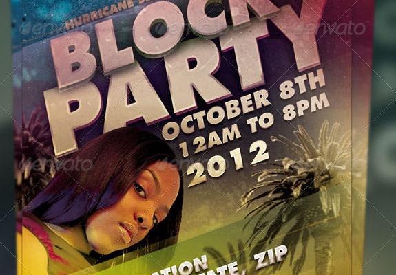 block party flyers templates mersn proforum co