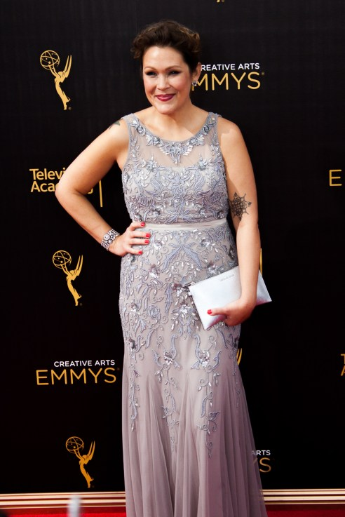 Amber Nash Emmys® Creative Arts 2016 Red Carpet