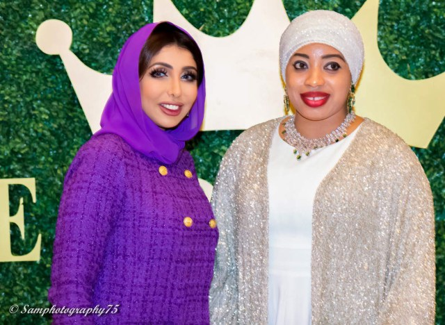 Her Highness Sheikha Hend Al Qassemi and Queen Zaynab of Nigeria 4Chion Lifestyle The Royal Gala