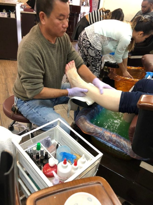 Pedicure 4chion lifestyle Feet Care