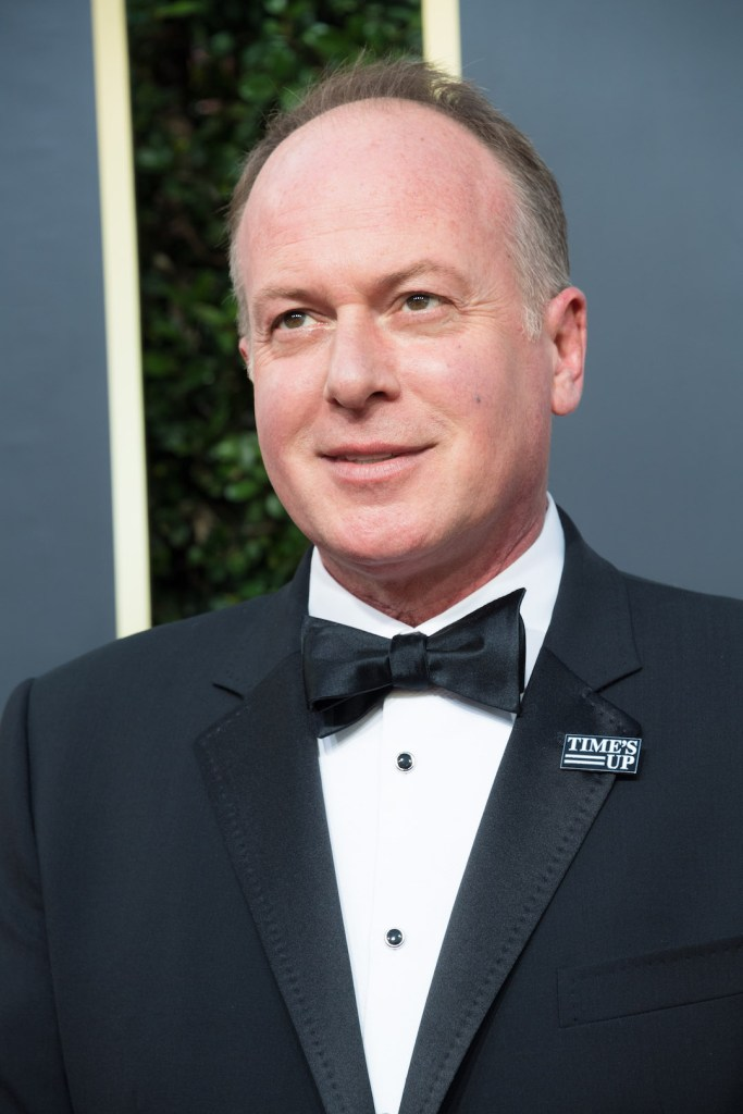 Tom McGrath arrives at the 75th Annual Golden Globes Awards 4chion lifestyle