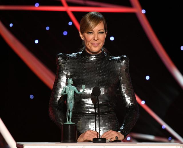 Allison Janney recipient I, Tonya SAG Awards 4Chion Lifestyle a