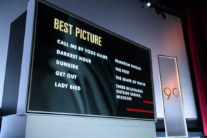 90th Oscars, Academy Awards, Nomination Announcements 4chion Lifestyle